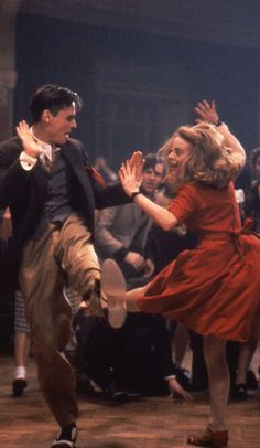 Christian Bale, Robert Sean Leonard, Tushka Bergen in Swing Kids (1993)  I need to buy this movie again.
