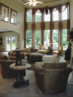 Model Home Curtains images of tall curtains | model homes: tall window treatments