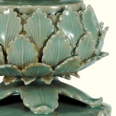 Incense Burner, Celadon with Openwork Design, Korea