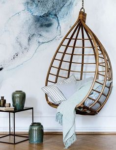 8 awesomely beautiful indoor swing chairs | My Cosy Retreat