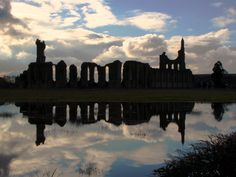 Byland Abbey, North York Moors National Park, England.  In Redemption, Raven Hall is located near a ruined Abbey.