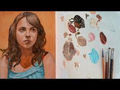 Pintar con veladuras 2. Retrato. Técnica grandes maestros. Curso de pintura. - YouTube