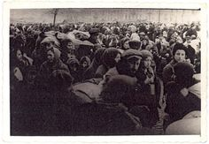 Lublin, Poland, The deportation of Jews from the city.