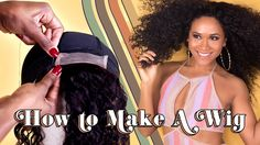How to Make a DIY Wig for Beginners | DAY 4 of 7 DAYS of HAIR!