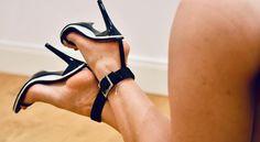 Strappy High Heels, Pointed Heels, Hot High Heels, Pumps Heels, Stiletto Heels, Beautiful High Heels, Gorgeous Feet, Sexy Legs And Heels, Women's Feet