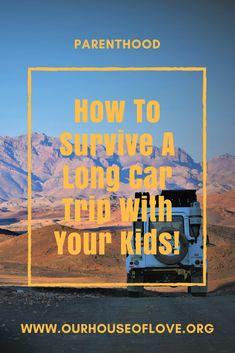 How to survive long car trips with your kids! Make road tripping with your kiddos an awesome adventure using these few tips NOW! Road Trip On A Budget, Road Trip With Kids, Family Road Trips, Travel With Kids, Family Travel, Outdoor Survival, Survival Tips, Survival Skills, Gentle Parenting