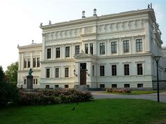 The University building in Lund city. Lund has, together with Uppsala city Sweden's oldest University, founded in 1666.