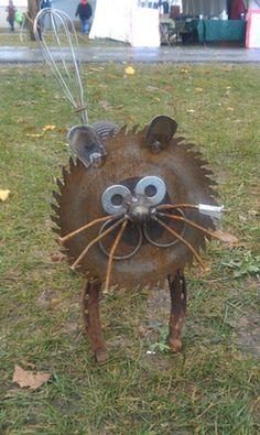 Cat Statue! 10 Quirky Cat-Crafts!