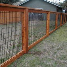 hog wire fence