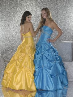 prom dresses for petite girls. Almost like Cinderella dresses but still very cute!!