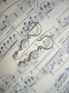 KEA Jewellery - Wedding collection SOLD Sterling silver and Rainbow Moonstone