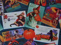 Alexander Henry, Vintage Postcards, FQ £3.20