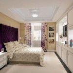 Идея дизайна спальной комнаты