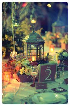 moroccan wedding centerpieces...