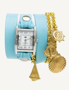 Turquoise - Gold Seaside--For Elida!