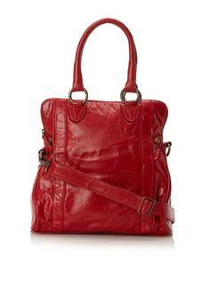 Latico Women's Sydney Convertible Shoulder Bag, Red