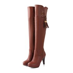 Individual women boots decorate tassels shoes Z-HONGX-580C