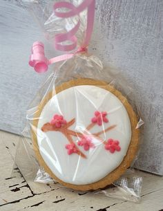 Cherry Blossom Cookie   Flickr - Photo Sharing!
