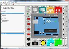 A free Windows simulation of an Arduino Uno