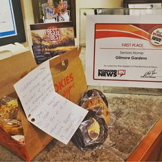 Thank you to @verveseniorliving for the cookies and voting Gilmore Gardens Retirement Residence the Best Seniors Community in Richmond! We always work provide the best of Retirement living for our residents 😄 #vervecares #community #gooditmes New Richmond, Senior Communities, Emergency Response, Senior Living, New Tricks, Retirement, Learning, Study, Teaching