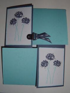 Stamp on This: Quarter Fold Card
