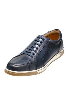 Varton Sport Leather Oxford Sneaker, Blue Antique - Cole Haan