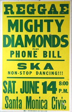 Reggae, Might Diamonds, Ska Band Posters, Film Posters, Music Posters, Rum Shop, Reggae Festival, Rude Boy, Northern Soul, Reggae Music, Dance Hall