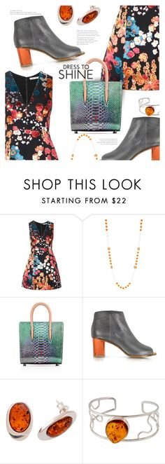 """""""Dress to Shine"""" by stacey-lynne ❤ liked on Polyvore featuring Alice + Olivia, Accessory PLAYS, MM6 Maison Margiela and Be-Jewelled"""
