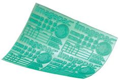 Design Your Own custom Rubber Stamp Sheet A5