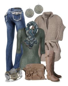 """""""Embellished Jeans"""" by smores1165 ❤ liked on Polyvore featuring A.F. Vandevorst, American Vintage, Missoni, CAFèNOIR, Wet Seal, EASTON and Sonoma life + style"""
