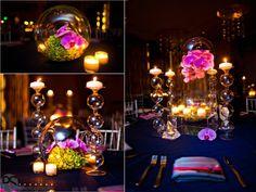 Modern chic wedding decor