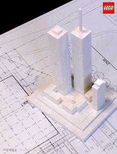 LEGO Architecture Studio Twin Towers