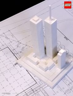 LEGO Architecture Studio Twin Towers