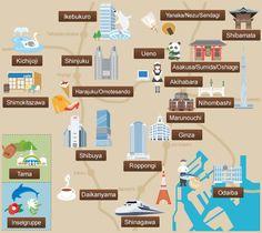 Sehenswerte Viertel / Das offizielle Tourismusportal für Tokyo GO TOKYO