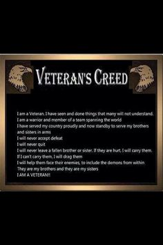 I'm not memorizing another damned Creed. Nobody lives up to them. My protects me from this stupidity Military Quotes, Military Humor, Military Veterans, Military Life, Army Life, Military Service, Military Art, American Veterans, American Soldiers