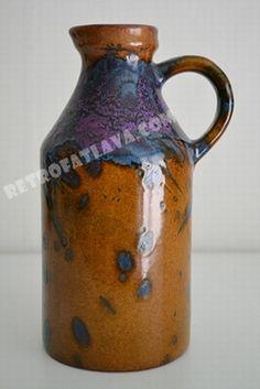 Roth Keramik handled vase  6302