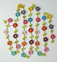 Resultado de imagem para crochet garland