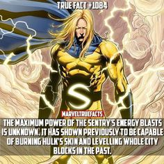 If he can burn The Hulk, then that's pretty powerful.<<It's over 9000 Marvel Facts, Ms Marvel, Marvel Dc Comics, Marvel Heroes, Marvel Avengers, Captain Marvel, Comic Movies, Comic Book Characters, Marvel Characters
