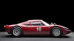 Porsche 904/6 Carrera GTS- one of my favourite  homologation born cars. not all porsche's retain the 911 styling!  8.7/10