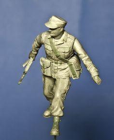 Polish Infantryman 1980 1/35