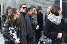 Street Style: Perfect Casual Menswear From NYFW F/W 2014 | VeeTravels.com