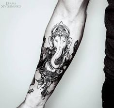 Ganesha Tattoo by dianaseverinenko