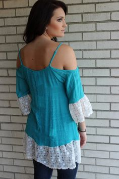 b8ecc4c3a86f5 It s a Southern Thing Tunic Dress – Sisterly Chic Boutique Turquoise Top