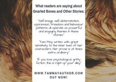 Author Renee Scattergood was kind enough to feature an author spotlight of me on her blog!  http://reneesauthorspotlight.blogspot.com/2017/04/gnarled-bones-and-other-stories-by-tam.html