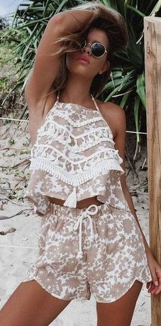 42 Inspirational cute summer outfits for girls - Outfit ideen - School Outfits Spring Outfits For Teen Girls, Trendy Outfits For Teens, Cute Summer Outfits, Cute Outfits, Teenager Outfits, Girl Outfits, Fashion Outfits, School Outfits, Moda Outfits