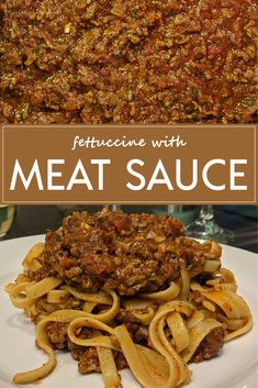 Italian Meat Sauce, Wine Food, Winter Night, Comfortfood, Pulled Pork, Stir Fry, Noodle, Ground Beef, Candid