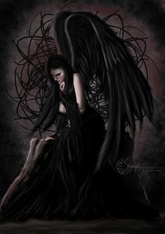 Winged human ( I know it is supposed to be a fallen angel, but this is how I have always imagined a meech (read the novels by Donita K. Paul)
