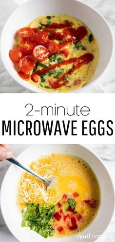 6 reviews · 2 minutes · Vegetarian Gluten free · Serves 1 · Easy microwave scrambled eggs made in one bowl in less than 2 minutes! A brilliant cooking hack that tastes delicious and requires hardly any clean up. #microwave #microwaverecipes #microwaveeggs… More