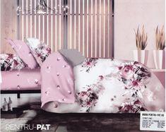 Lenjerie de pat bumbac Casa New Fashion roz cu trandafiri Floral Bedding, Toddler Bed, Throw Pillows, Bedroom Ideas, Furniture, Home Decor, Beautiful, Child Bed, Toss Pillows