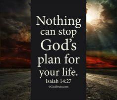 Have faith in God, Amen!